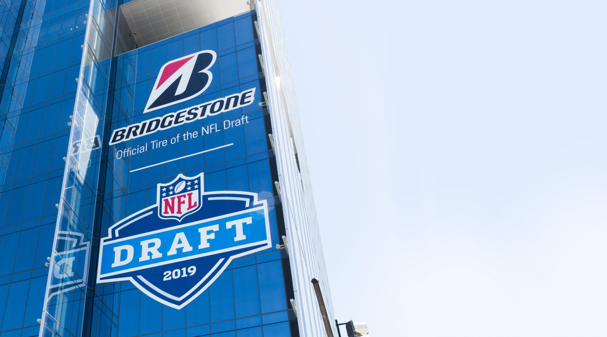 Letting Every NFL Fan Know This Is Bridgestone's House